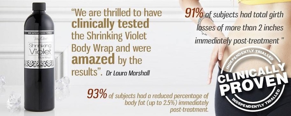 shrinking-violet-Body Wrap Newcastle - RT Aesthetics
