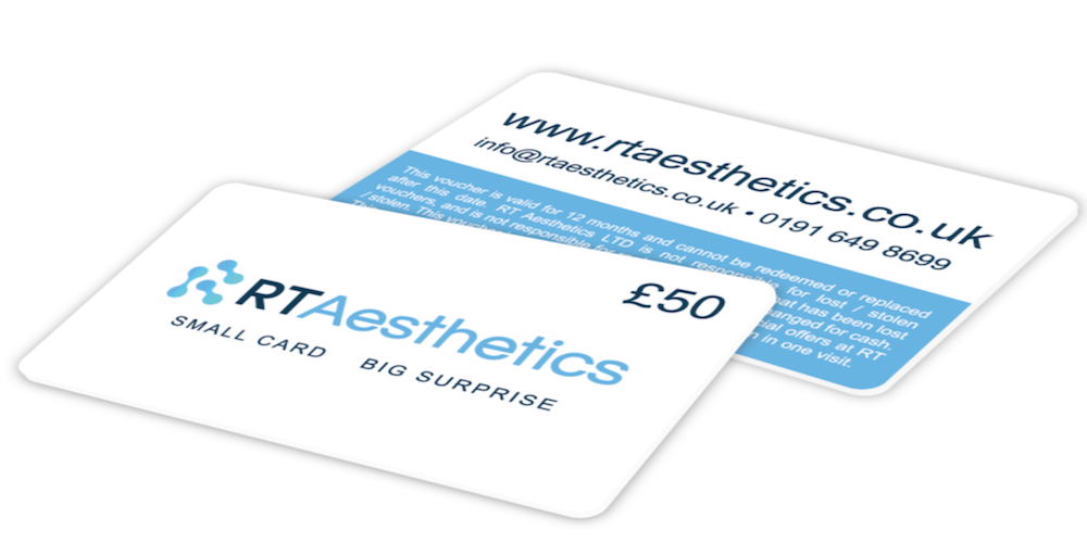 RT Aesthetics Gift Cards